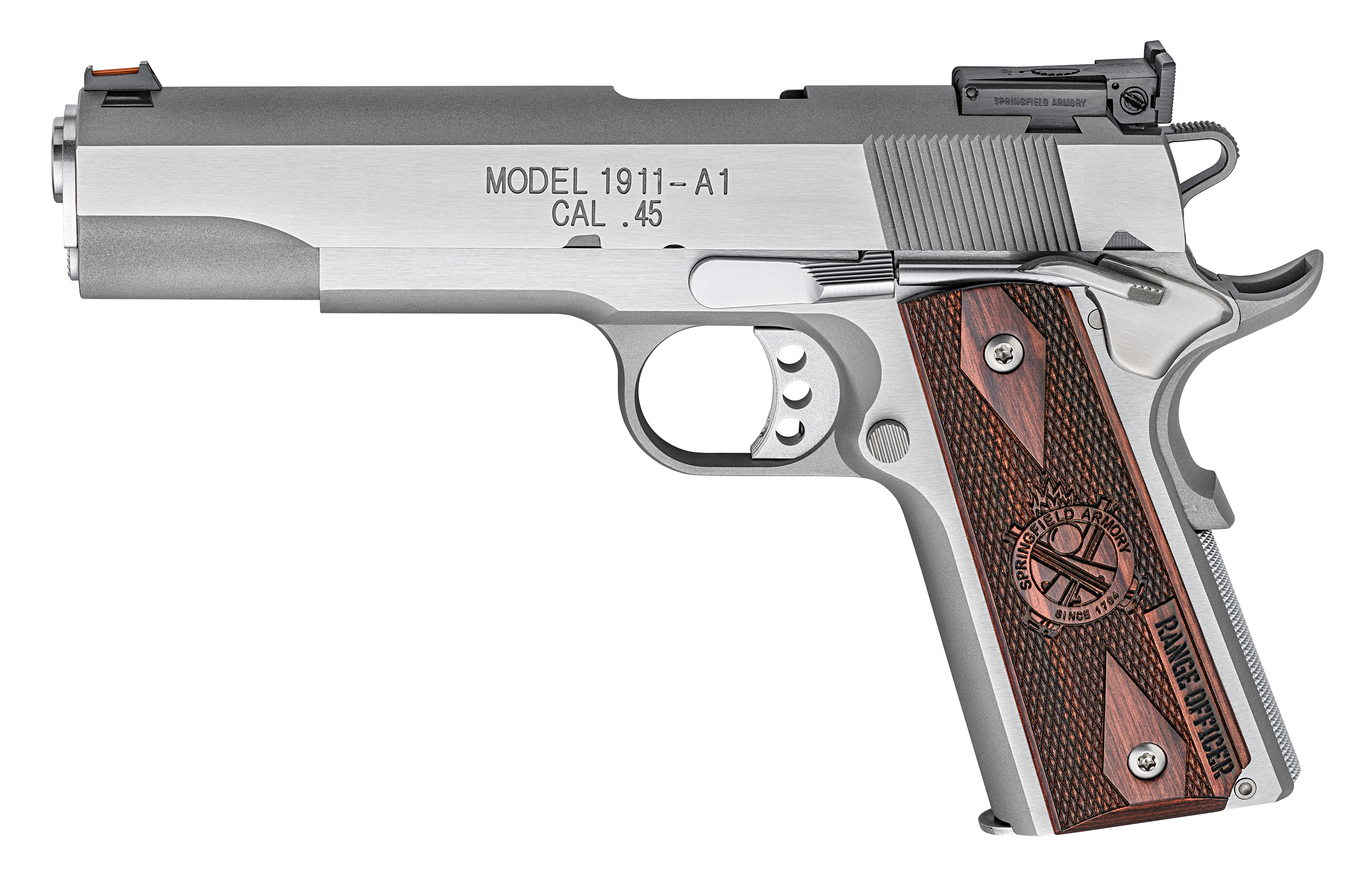 1911 A1 Springfield Range Officer P19124L In Stock and on sale ...