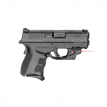 Springfield XDS Mod2 9mm 3.3 Pistol with Red Viridian Laser, Black - XDSG9339BVR